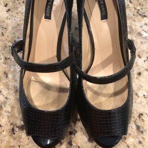 2 pair of Alex Marie low heels! Barely worn!